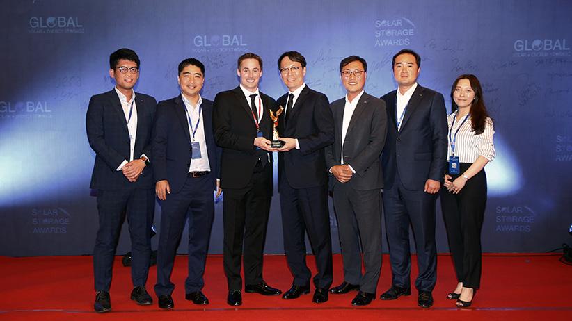 [보도자료]두산중공업, '올해의 ESS 프로젝트'상 수상