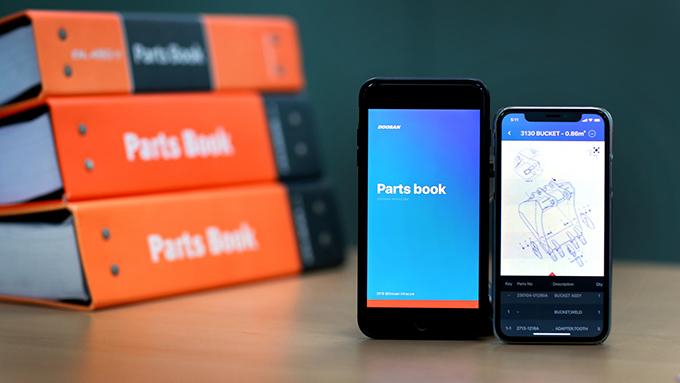 [보도자료]두산인프라코어, '600페이지' 건설기계 부품 매뉴얼 담은 앱 출시