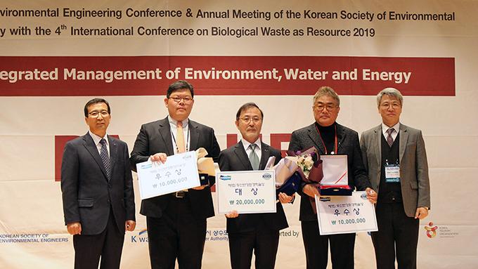 [보도자료]두산연강재단, 2019 두산연강환경학술상 시상