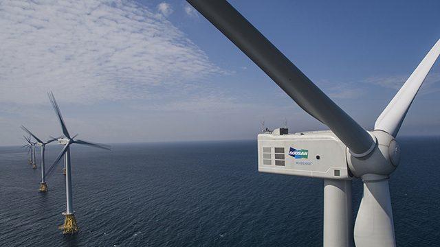[보도자료]두산중공업, 국내 최대 해상풍력단지 기자재 공급 계약